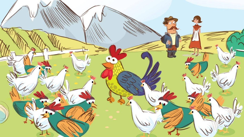 A pásztor aki megértette az állatok nyelvét,The Shepherd Who Understood The Language Of The Animals, hungarian children's books, learn hungarian story for children