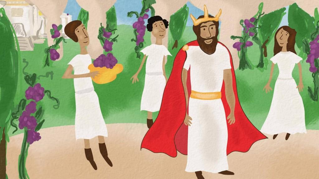 midas king, greek children's books, learn greek story for children